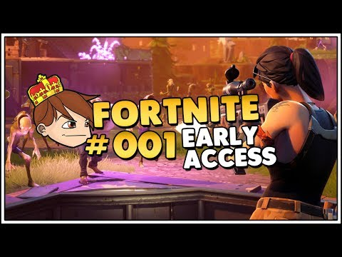 Let's Play FORTNITE - OMG! Intro & Tutorial Mission #001 [Let's Play/Deutsch/1440p]