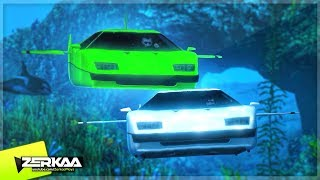 UNDERWATER CAR RACING! (GTA 5)