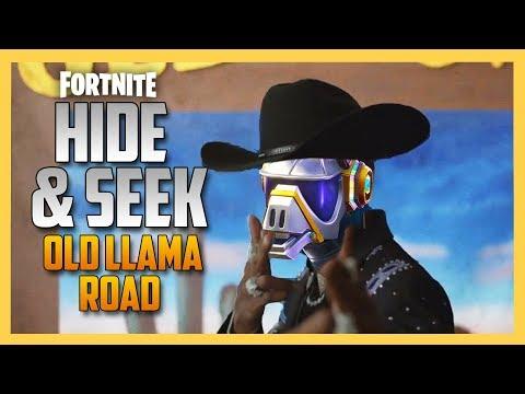 Old Llama Road Hide and Seek in Fortnite | Swiftor