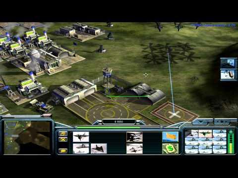 Command and Conquer: Generals USA Campaign Mission 6 - Desperate Union [HD]