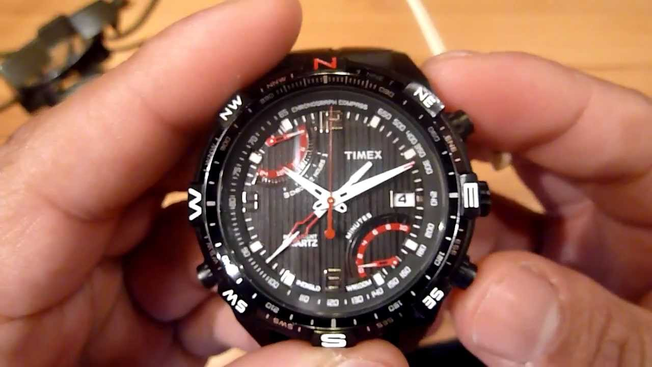 Timex iq Flyback Chrono