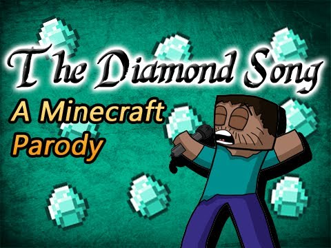 ♪ The Diamond Song - A Minecraft Parody of Bruno Mars The...