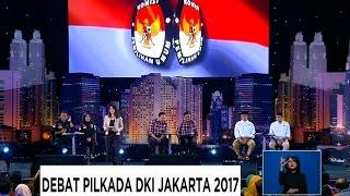 Debat Pilkada DKI Jakarta 2017 - AHY - Sylvi, Ahok - Djarot, Anies - Sandi