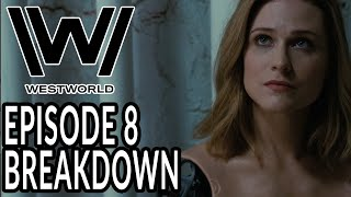 WESTWORLD Season 3 Episode 8 Breakdown, Theories, and Details You Missed!  Twists + Post Credits