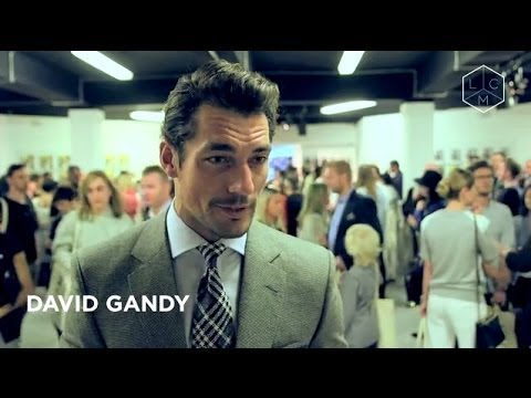 Day 1 at London Collections: Men SS15 with David Gandy