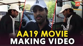 AA19 Movie Making Video | Allu Arjun | Trivikram Srinivas | #AA19 | Latest Telugu Movies