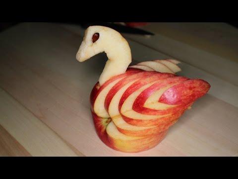 Elma ile kuğu nasıl yapılır?