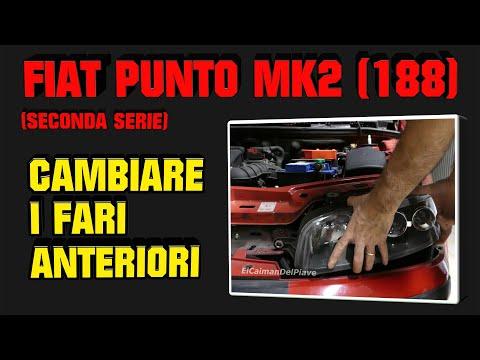 Fiat Punto Mk2 188 CAMBIARE I FARI ANTERIORI TUTORIAL