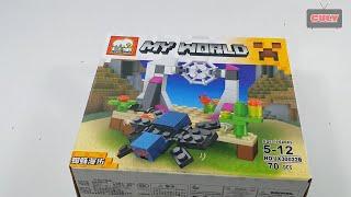 Lego Minecraft Spider con nhện đồ chơi trẻ em brick toy for kids
