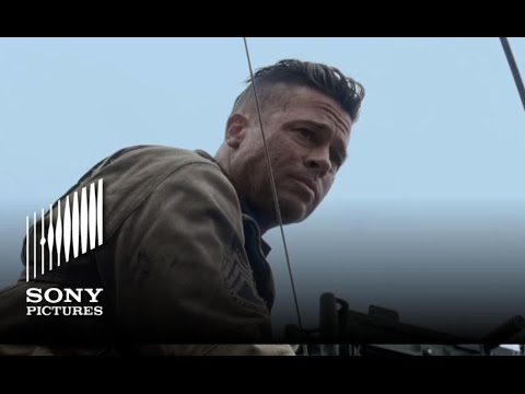 FURY - '5 Soldiers' TV Spot - In theaters 10/17!