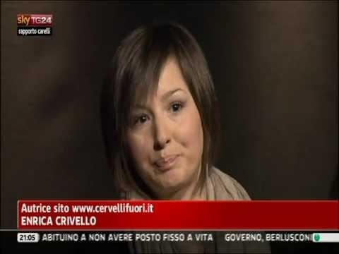 Rapporto Carelli SKY TG24 – Intervento di Enrica Crivello di Cervellifuori.it.avi