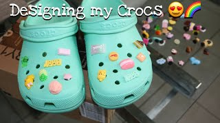 Designing my new Crocs!