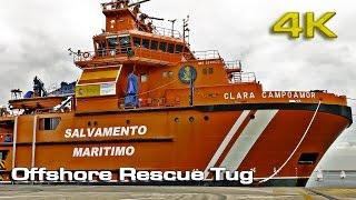 "Offshore Rescue Tug ""Clara Campoamor"" [4K]"