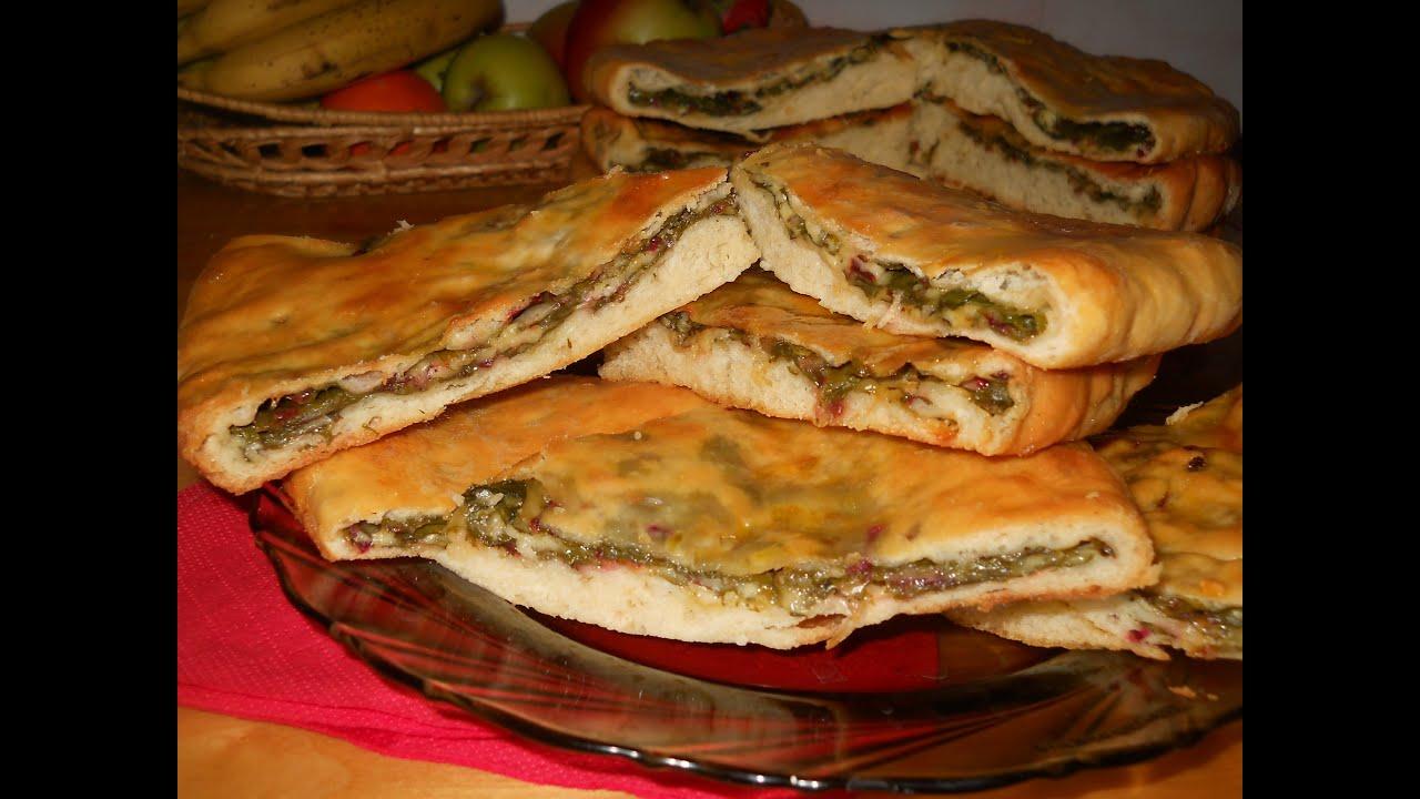 Настоящий осетинский пирог рецепт