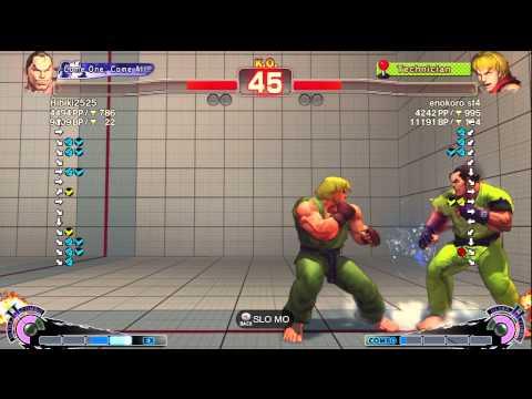 Hibiki (Dan) vs Enokoro (Ken) - AE 2012 Ranked Match *720p HD*