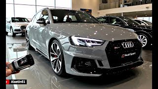 AUDI RS4 2018 NEW FULL Review SOUND Interior Exterior Infotainment