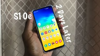Samsung Galaxy S10e | 48 Hours later Discussion!