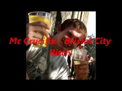 Mc Crucifix - Bristol City Bitch (tyga Rack City Remix) video