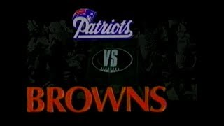 1994-11-06 New England Patriots vs Cleveland Browns