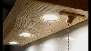 (22.9 MB) LED lit bathroom shelf Mp3