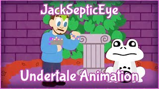 Jacksepticeye Animated - Undertale / PEE BREAK