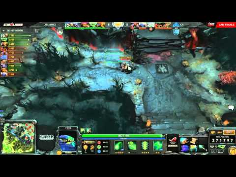 Cloud9 vs Alliance (Starladder X LAN - Groups)