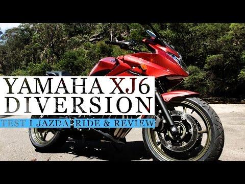 Yamaha XJ6 Diversion S - Stylizowany na FZ1. Nowoczesny Bezawaryjny Turystyk. motobanda.pl