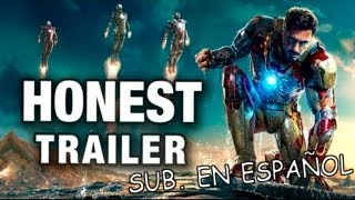 Honest Trailers (Tráiler Honesto) - Iron Man 3