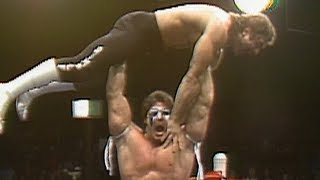 Rick Rude vs. Ultimate Warrior: World Class Championship Wrestling, Aug. 22, 1986
