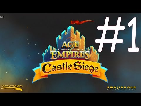Lets Play: Age of Empires Castle Siege (by Microsoft Corporation) - Gameplay  #1