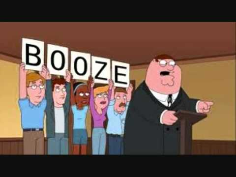 Mr Booze (Family Guy parody)