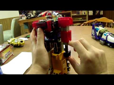 Lightspeed megazord and  Max Solar Zord review