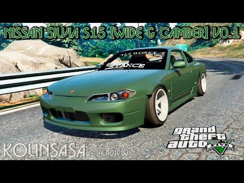 Nissan Silvia S15 (Wide & Camber) v0.1
