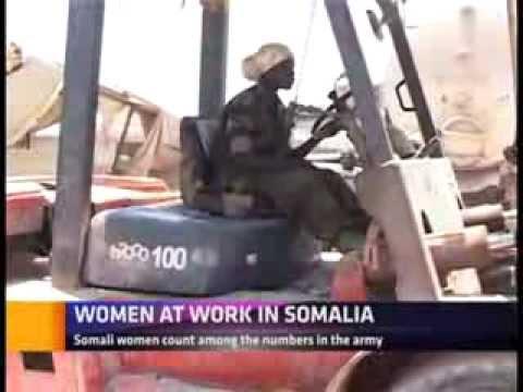 WOMEN AT WORK IN SOMALIA