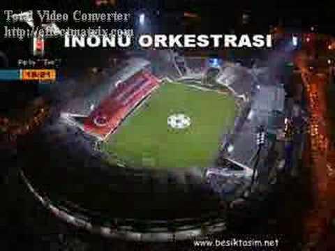 BESİKTAS LİVERPOOL İNÖNÜ ORKESTRASI HARİKA GÖRÜNTÜLER!!!