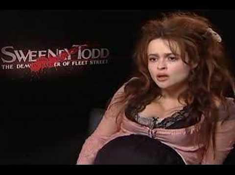 Helena Bonham Carter interview for Sweeney Todd