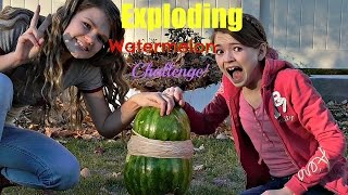 The Exploding Watermelon Challenge!