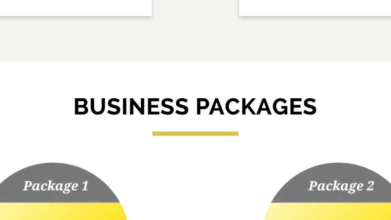 Business plan language