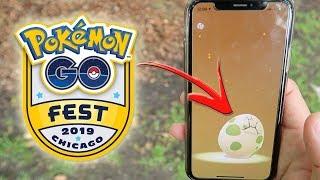 ¡ABRIENDO HUEVOS ESPECIALES del Pokémon GO Fest 2019! [Keibron]