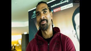 David Haye on DERECK CHISORA SURPRISE NEW TRAINER & David Price fight.