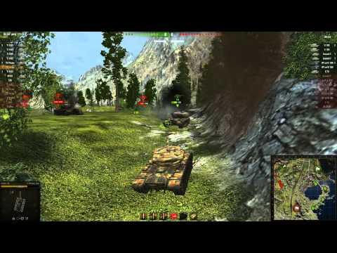 "World Of Tanks Новый режим в WoT ""Противостояние"" Америка VS Немцы"""