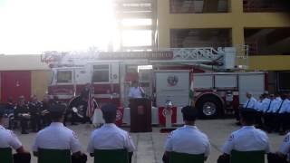 Shawn Fernandez Miami Fire College Speech