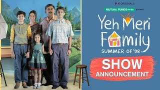 New Web Series Announcement | TVF's Yeh Meri Family | 12th July on TVFPlay
