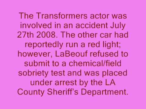 Shia LaBeouf lost his license!!!