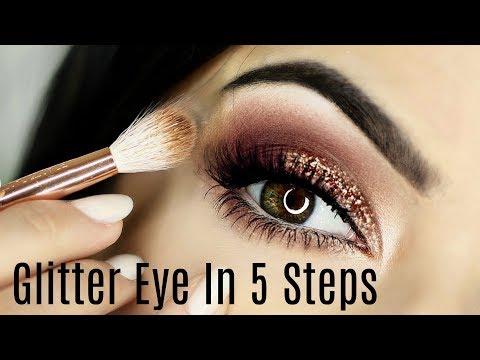 Glitter Smokey Eye Tutorial   5 Steps   TheMakeupChair
