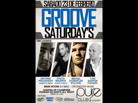sabado 23 de febrero GROOVE SATURDAYS at CLUB PURE!