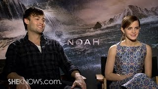 Stars Emma Watson & Douglas Booth Talk New Movie