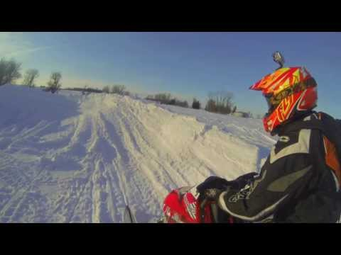 Snowmobile Laps!