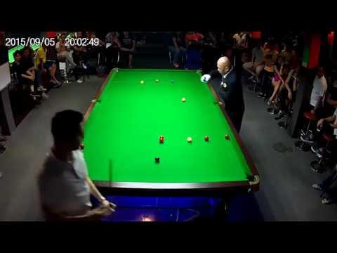 Skill luar biasa Anak kecil vs orang dewasa dalam permainan snooker