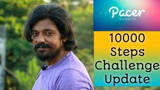 Pacer App 10000 Step Challenge Update | June Month Challenge Update !!!